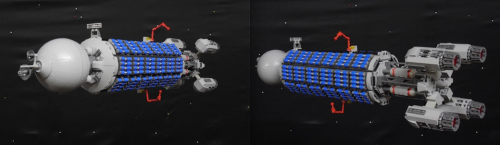Lego Goliath Space Freighter
