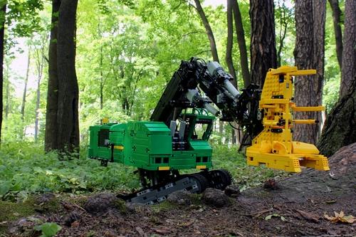 Lego Technic RC John Deere