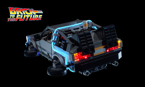 Lego Back to the Future DeLorean DMC-12