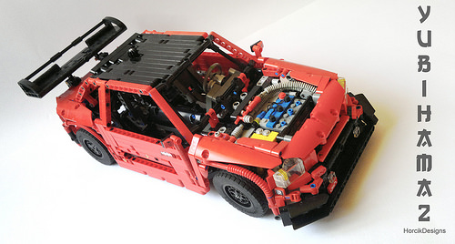 lego porsche power functions instructions