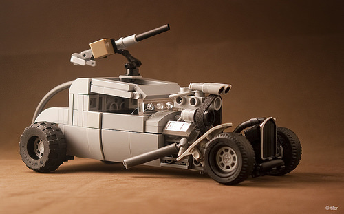 Lego Mad Max Hot Rod