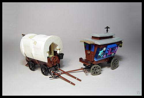 Lego Gypsy Wagons