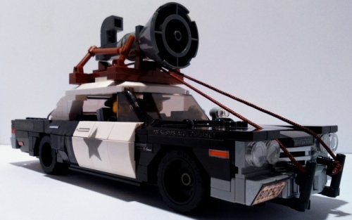Lego Dodge Monaco Blues Brothers