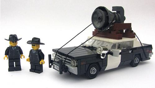 Lego Bluemobile Dodge Monaco