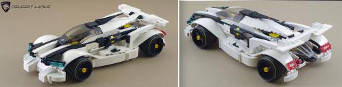 Lego Peugeot Concept