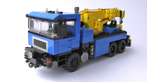 Lego MAN Tow Truck