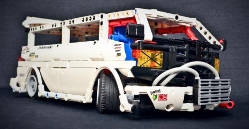 Lego Bosozoku Toyota Hiace Van