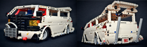 Lego Technic RC Van