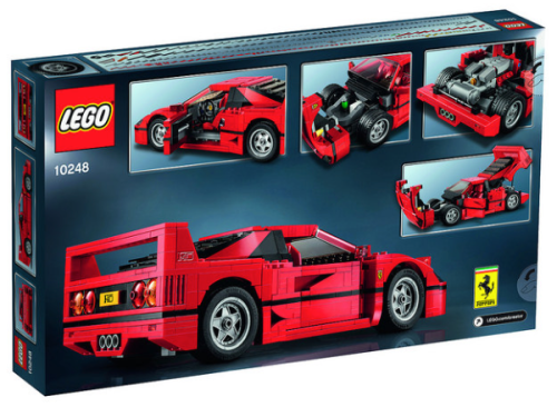 Lego Creator 10248 Ferrari F40 Review