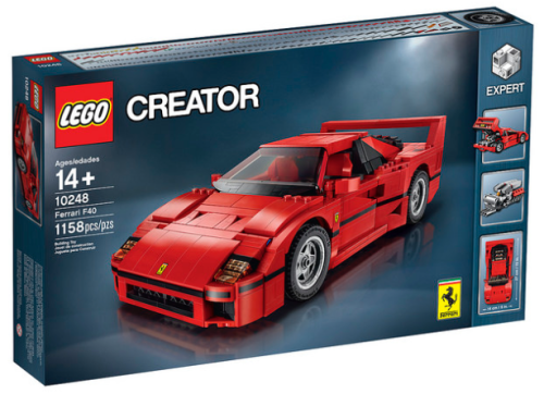 Lego 10248 Ferrari F40 Review