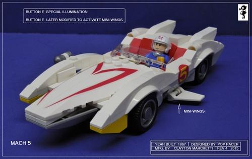 Lego Speed Racer Mach 5