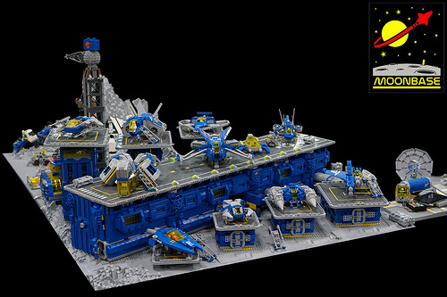 Lego Classic Space Moon Base