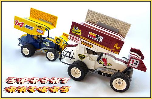 Lego Sprint Cars