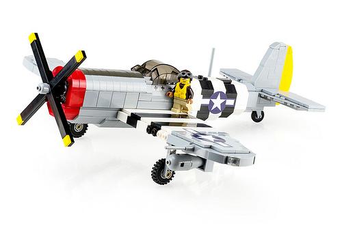 Lego P-47 Thunderbolt