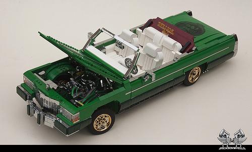 Lego Cadillac Fleetwood Lowrider