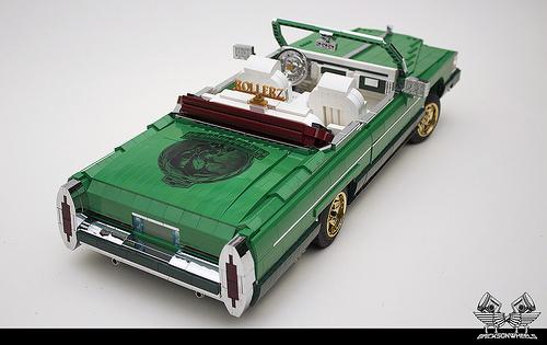 Lego Cadillac Fleetwood Le Cabriolet Low Rider
