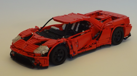 Lego Technic New Ford GT Ecoboost