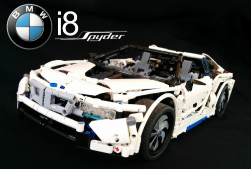 Lego Technic BMW i8 Sheepo