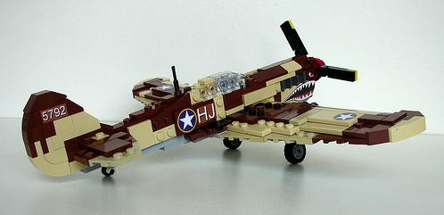 Lego Curtis P-40 Warhawk