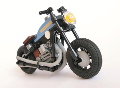 Lego Triumph Motorcycle