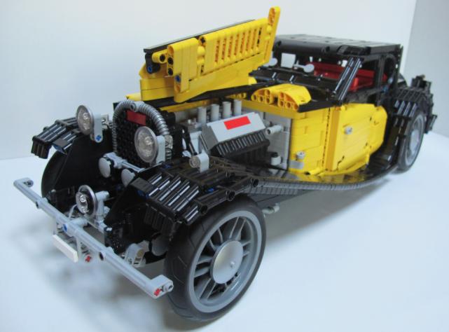 bugatti the lego car blog. Black Bedroom Furniture Sets. Home Design Ideas