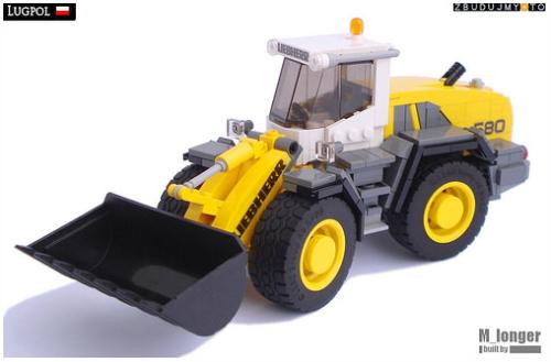 Lego Liebherr Loader