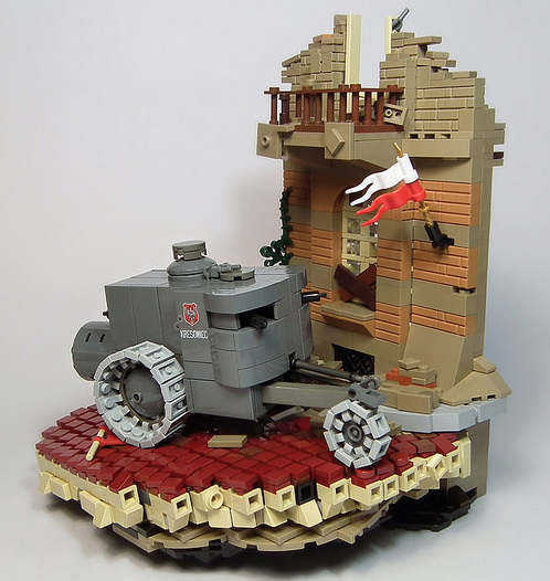 Lego Armoured Car