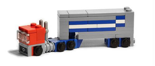 Lego Optimus Prime Micro