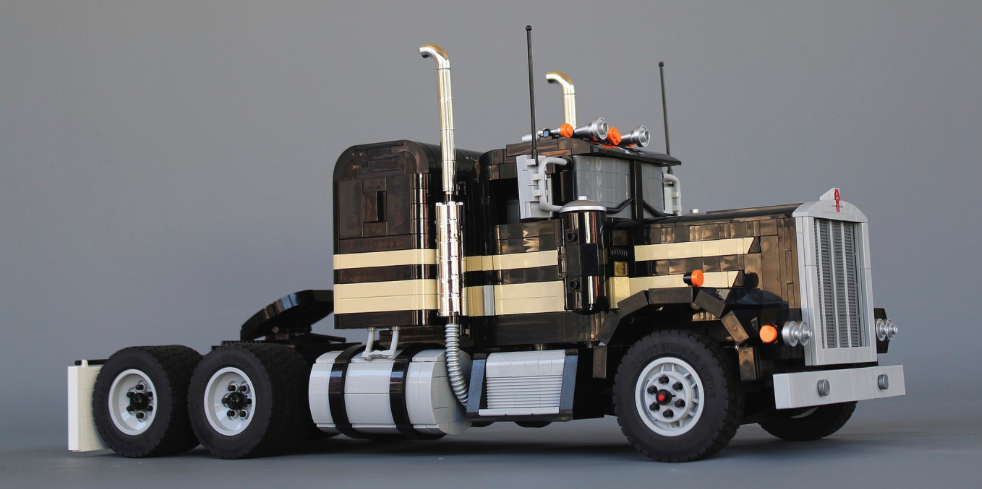Smokey And The Banditon 1974 Kenworth W900 Smokey And The Bandit