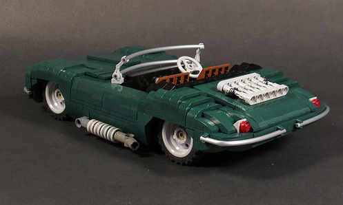 Lego Model Team Jaguar XK-SS