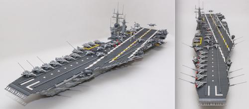 Lego Aircraft Carrier CVN-71 Theodore Roosevelt