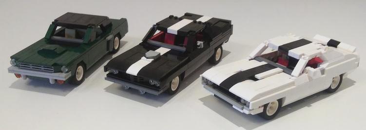 Muscle Car The Lego Car Blog