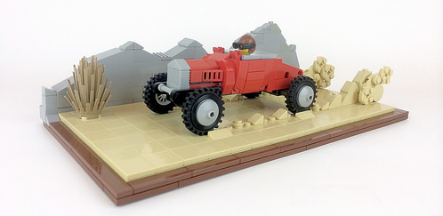 Lego Hot Rod Salt Flats
