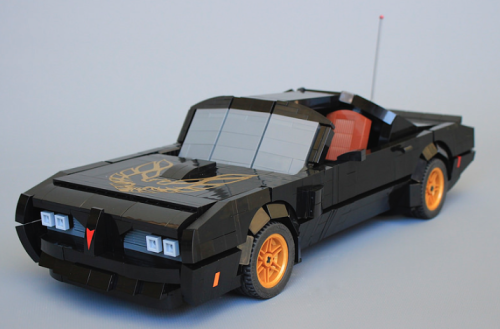 Lego Smokey and the Bandit Pontiac Trans-Am