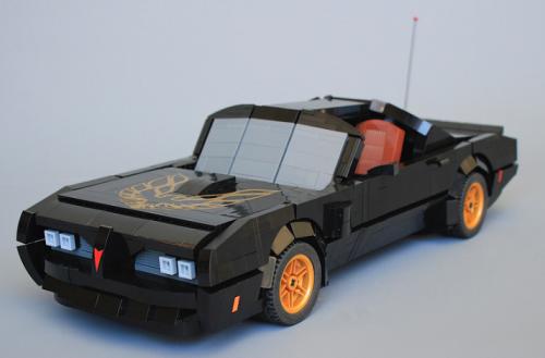 Lego Smokey and the Bandit Pontiac Trans-Am