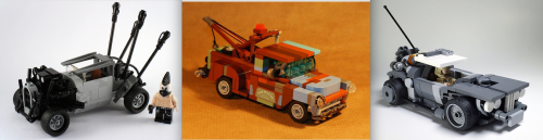 Lego Mad Max Hot Rods