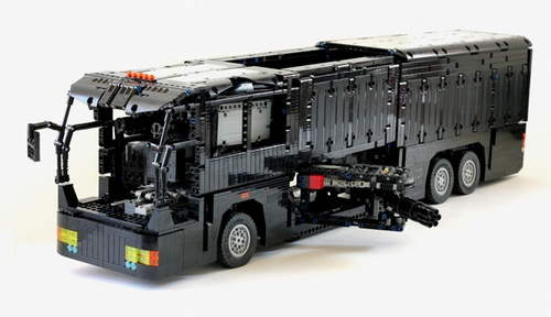 Lego Battle Bus