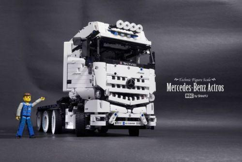 Lego Mercedes-Benz Actros Truck