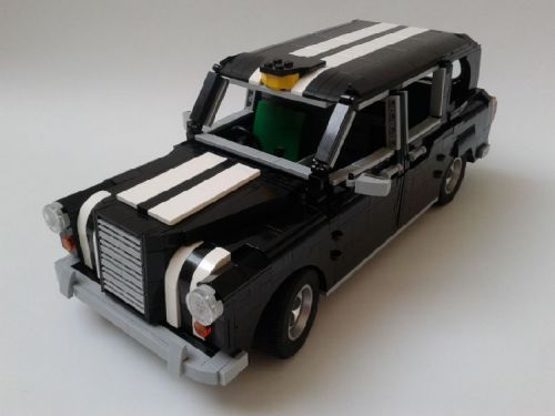 Lego London Taxi Racing