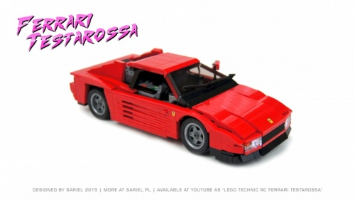 Lego Sariel Ferrari Testarossa