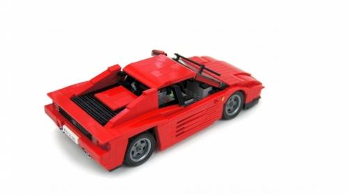 Lego RC Ferrari Testarossa Sariel
