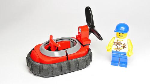 Lego Town City Hovercraft