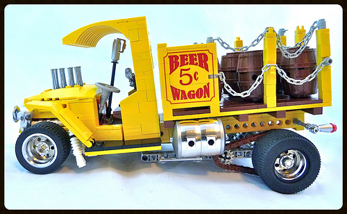 Lego Beer Wagon Hot Rod Tom Daniels