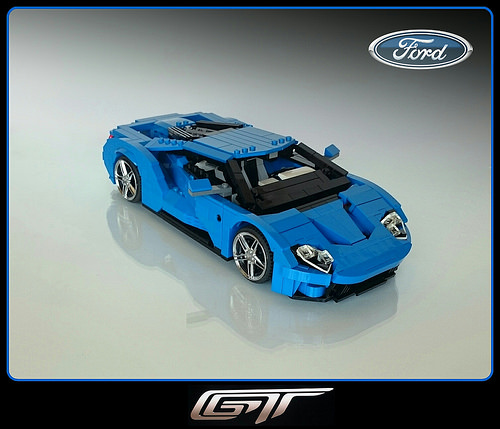 First Team Subaru >> Ford GT – Picture Special | THE LEGO CAR BLOG