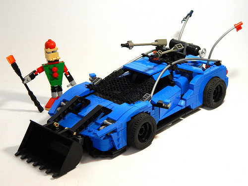 Lego Post Apoc Ford GT