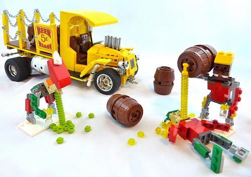 Lego Elven Vomit