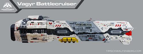 Lego Homeworld Vaygr Battlecruiser