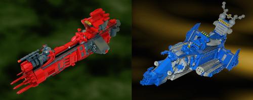 Lego Spaceships