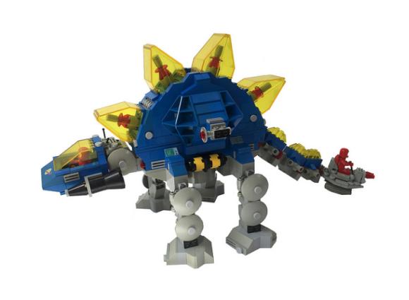 Lego Space Stegosaurus