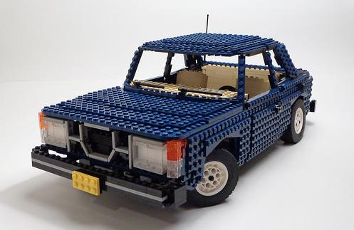 Lego Saab 99